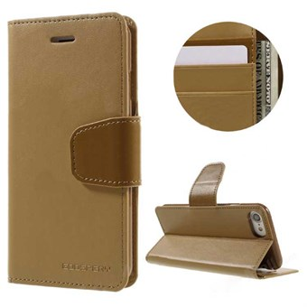 Image of   iphone 7/8 Goospery] SONATA DIARY CASE Wallet Card - Beige / under updatering